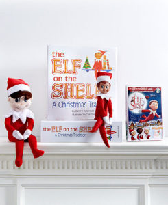 Family Christmas Elf Tradition - Elf on the Shelf