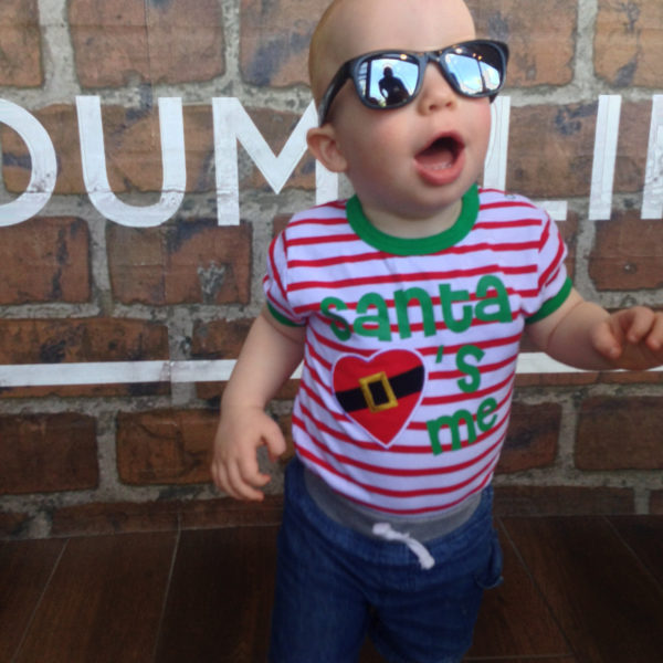 Real Kids Shades Lifestyle Image - Surf in Black 001