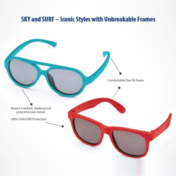 Real Kids Shades - Sky and Surf Information Image