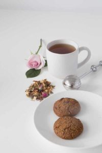 Lifestyle Image - Lactation Tea, Feeding and Feeding with Choc Chip Cookies
