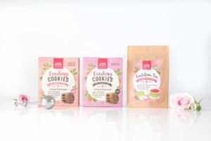 The Yummy Mummy Food Company Tea and Feeding Cookies Range - Lactation Tea, Feeding and Feeding with Choc Chip Cookies