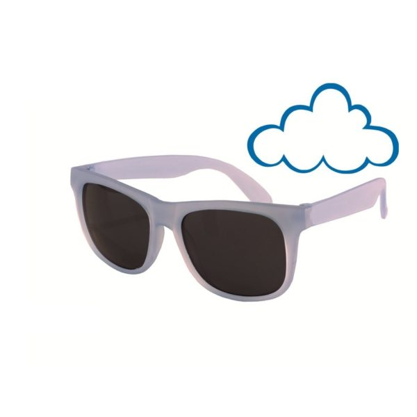 Real Kids Shades - Switch - Light Blue-Purple with PC Smoke Lens - Cloudy