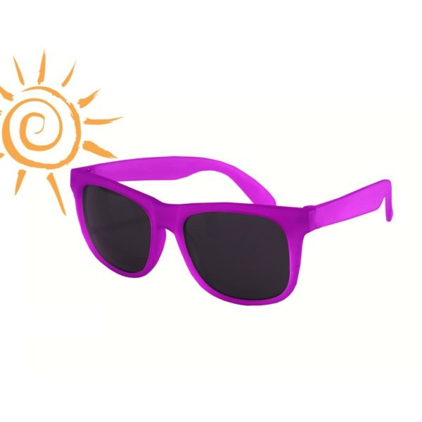 Real Kids Shades - Switch - Light Blue-Purple with PC Smoke Lens - Sunny