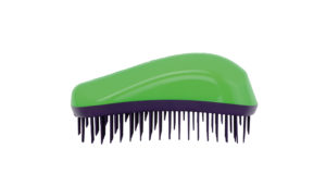 Dessata Detangling Brush - Classic Maxi Green-Purple 001