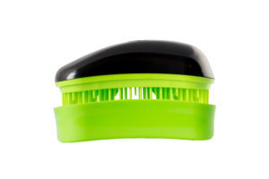 Dessata Detangling Brush - Classic Mini Black-Lime 001