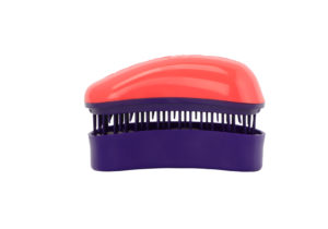 Dessata Detangling Brush - Classic Mini Coral-Purple 001