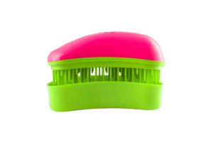 Dessata Detangling Brush - Classic Mini Fuchsia-Lime 001