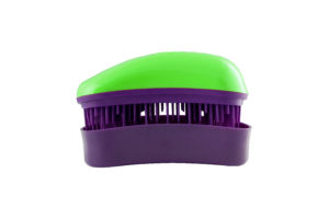 Dessata Detangling Brush - Classic Mini Green-Purple 001