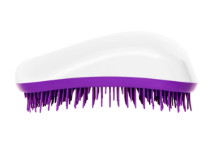 Dessata Detangling Brush - Classic Original White-Purple 001