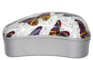 Dessata Detangling Brush - Prints Mini Butterflies 001