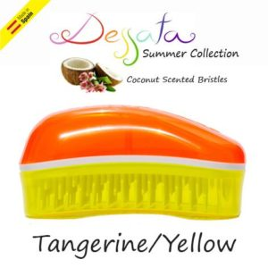 Dessata Detangling Brush - Summer Mini Collection Tangerine-Yellow 002