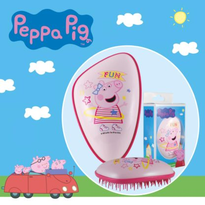 Dessata Detangling Brush - Limited Edition Licensed Peppa Pig Lifestyle