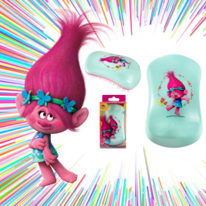 Dessata Detangling Brush - Limited Edition Licensed Trolls Poppy Flowers Lifestyle