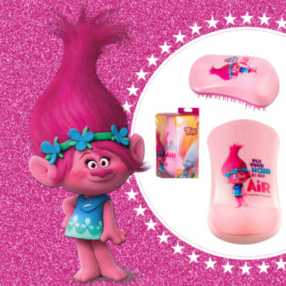 Dessata Detangling Brush - Limited Edition Licensed Trolls Poppy put your hair in the air Lifestyle