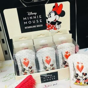 Dessata Detangling Brush - Limited Edition Licensed Disney Mickey Mouse & Minnie Mouse CDU 001