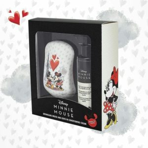 Dessata Detangling Brush - Limited Edition Licensed Disney Mickey Mouse & Minnie Mouse Gift Set LS 001