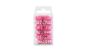 Dessata No Pulling Hair Ties - Metallic Fuchsia 001