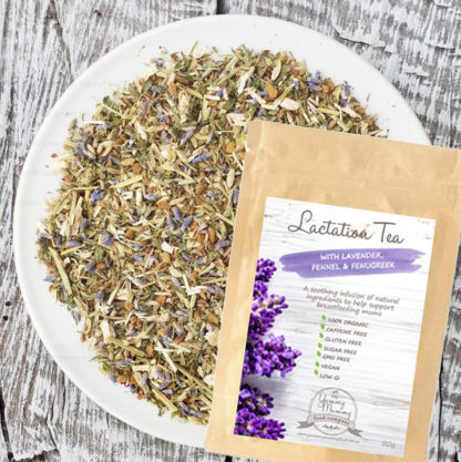 Lactation Herbal Tea with Lavender, Fennel & Fenugreek - Packet 50g