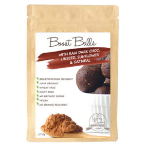Boost Balls with Raw Dark Choc, Linseed, Sunflower & Oatmeal - Packet 275g