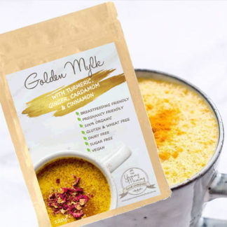 Golden Mylk with Turmeric, Ginger, Cardamom & Cinnamon - Packet 175g
